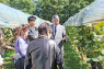 FOOD AND DRINK Members of the Japan-British Society enjoyed a guided tour and wine tasting at Manns Winery in Komoro City, Nagano Prefecture on 26 September.