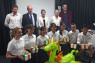 CREATIVELori Henderson MBE (top centre), BCCJ executive director, attended the British School in Tokyo's Dragons' Den Challenge on 26 June.