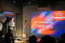 """BCCJ EVENTLori Henderson MBE, BCCJ executive director, welcomed a number of BCCJ charity partners to showcase their work at the """"BCCJ Community Hub: Powered by PechaKucha"""" event at SuperDeluxe in Tokyo on 9 October."""