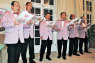 EVENT Choir members sang a selection of festive songs in English and Welsh to guests at the Welsh government's Christmas reception at the British Embassy Tokyo on 11 December.