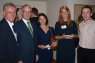 Ambassador of Ireland to Japan John Neary and guests at the BCCJ's joint networking event. It was held with the Ireland Japan Chamber of Commerce at the ambassador's residence in Tokyo on 13 September.