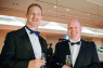 British Business Awards Attending the awards were Tom Cocks of Compass Offices and Richard Straughton of Peak Japan.