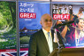 CULTURE The Rt Hon Sajid Javid MP, secretary of state for culture, media and sport, addressed attendees of a tourism reception by VisitBritain on 17November at the British Embassy Tokyo.