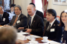 """David Willetts, minister of state for universities and science at the Department for Business, Innovation and Skills, spoke at a British Council roundtable on higher education in Japan and the UK, titled """"Public Engagement of Universities in the 21st century"""", on 10 April at the British Embassy Tokyo."""