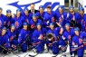 Britain beat Japan 2-1 on 11 November to advance to the final round of the Olympic ice hockey qualifying game for the XXII Olympic Winter Games and XI Paralympic Winter Games to be held in Sochi, Russia in 2014.