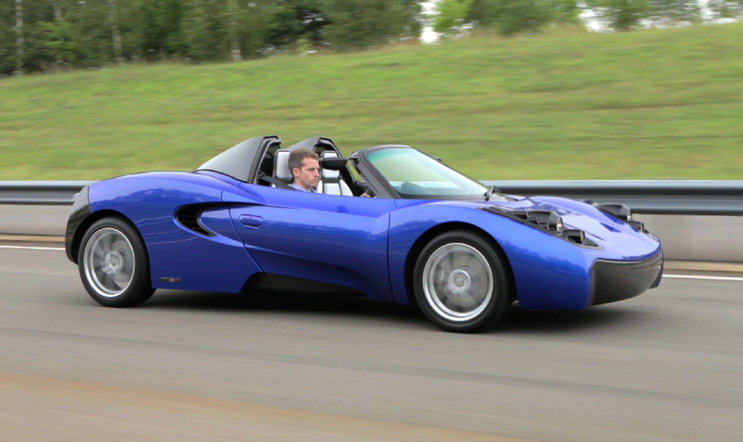 Briton Designs Ev Sports Car