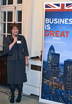 UKTI Japan Director Sue Kinoshita welcomed delegates.