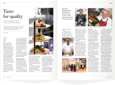 The May 2014 ACUMEN features the market potential for British food and drink firms, and their success at Foodex 2014.