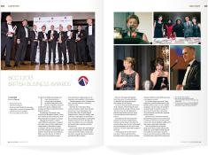 Acumen plays a key role in promoting and featuring the British Business Awards every year, as seen in the November 2013 issue.