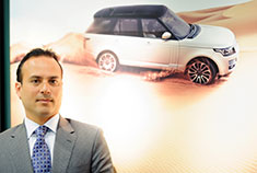 The business has experienced strong sales in its Land Rover lines.