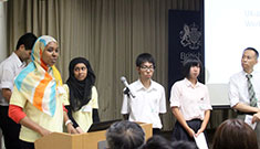 Participants shared their experiences at an event at the British Embassy Tokyo.
