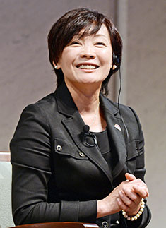 Akie Abe shared her views on growing up in Japan as a woman.