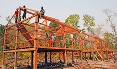 United World Schools funds construction of the buildings.