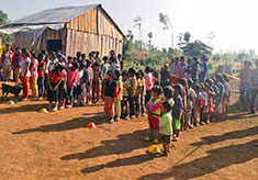 The local community is involved in school development.