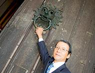 Keiichi Hayashi visits Durham University.