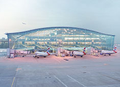 London Heathrow Airport Terminal 5 is an award-winning terminal.
