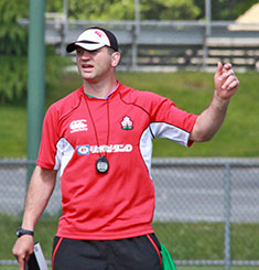 Japan Assistant Coach Steve Borthwick