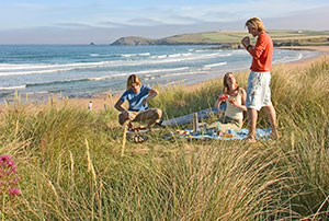 More tourists are visiting the beaches of Cornwall.
