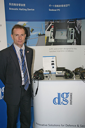 Peter Hardman of Drumgrange Ltd. attended the event.