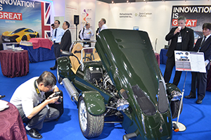 New Innovation is GREAT branding at the UK stand attracted attention.