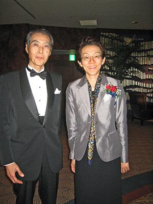 Sukeyoshi Yamamoto OBE and the BCCJ's Sanae Samata