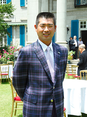 Yuta Ikeda is Scotland's first Goodwill Golf Ambassador.