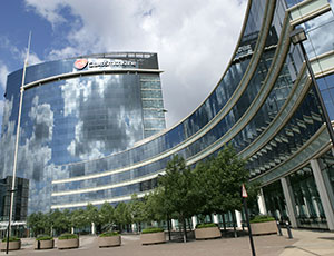GSK House is located in Middlesex, England.