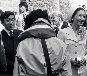 Emperor Akihito and Empress Michiko visited UWC Atlantic College in the 1960s.