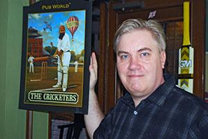 Matthew Anderson is proprietor of The Cricketers in Hyogo Prefecture.