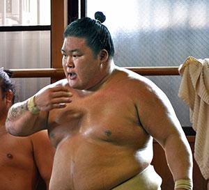 Gotaro Sawai, known by his ring name Goeido