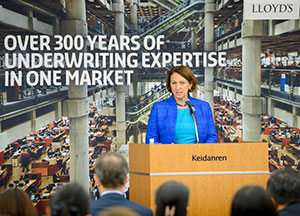 Inga Beale delivered a speech at the Keidanren (Japan Business Federation).