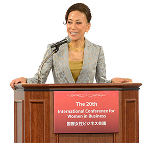 Haruno Yoshida, president of BT Japan Corporation
