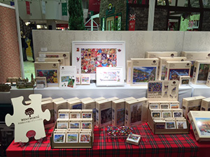The Wentworth Wooden Jigsaw Company Limited displayed their bespoke puzzles.