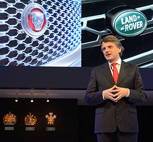 Dr Ralf Speth, chief executive of Jaguar Land Rover