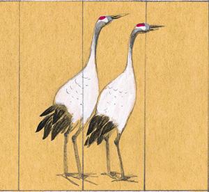 Feng Shui crane