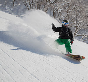 The area boasts some of the best powder snow in Japan.