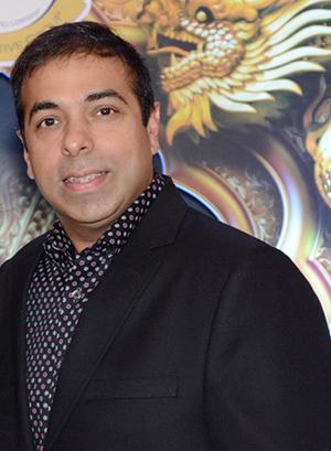 Vinod Bahrunani of Euro Merican brand