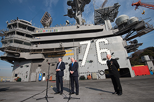 UK ministers visited the Japan Maritime Self-Defense Forces ship in Yokosuka