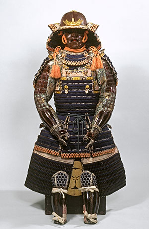 Suit of armour in Haramaki style, 19th century