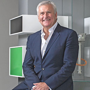Bill Sweeney of the British Olympic Association