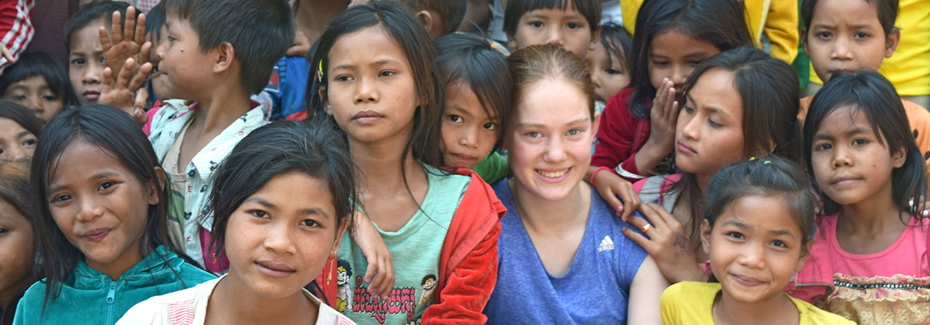 A BST student took part in fieldwork in Cambodia.