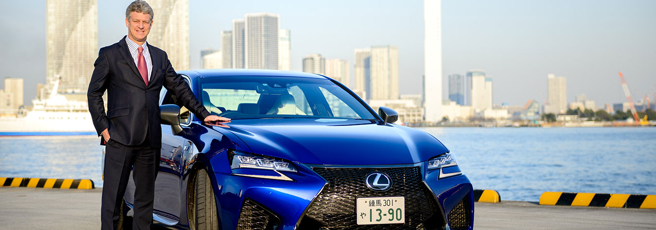 Richard Thornley test drove the 2016 Lexus GS F.