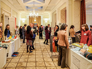 The Fashion and Lifestyle Mission was held at the British Embassy Tokyo.