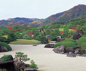 Adachi Museum's landscape garden is a popular attraction.