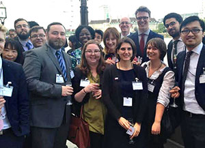 Members of the JET Programme Alumni Association UK attended a British–Japanese Parliamentary Group reception.