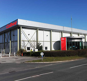 Japanese snack producer Calbee's plant in Flintshire, Wales.