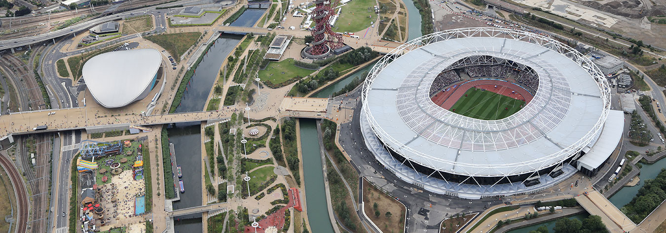 The Olympic Stadium in London continues to be used after London 2012.