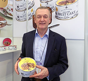Robert Dark of Buckingham Cakes