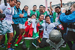 Mexico emerged victorious from the Homeless World Cup in Glasgow