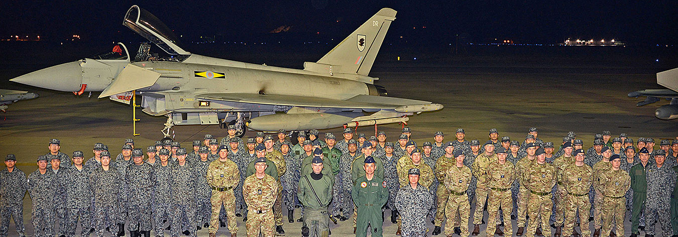 The Royal Air Force and Japan Air Self-Defense Force recently participated in an exercise together.